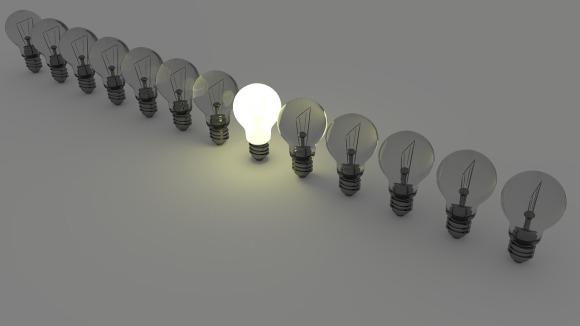 light bulbs great idea