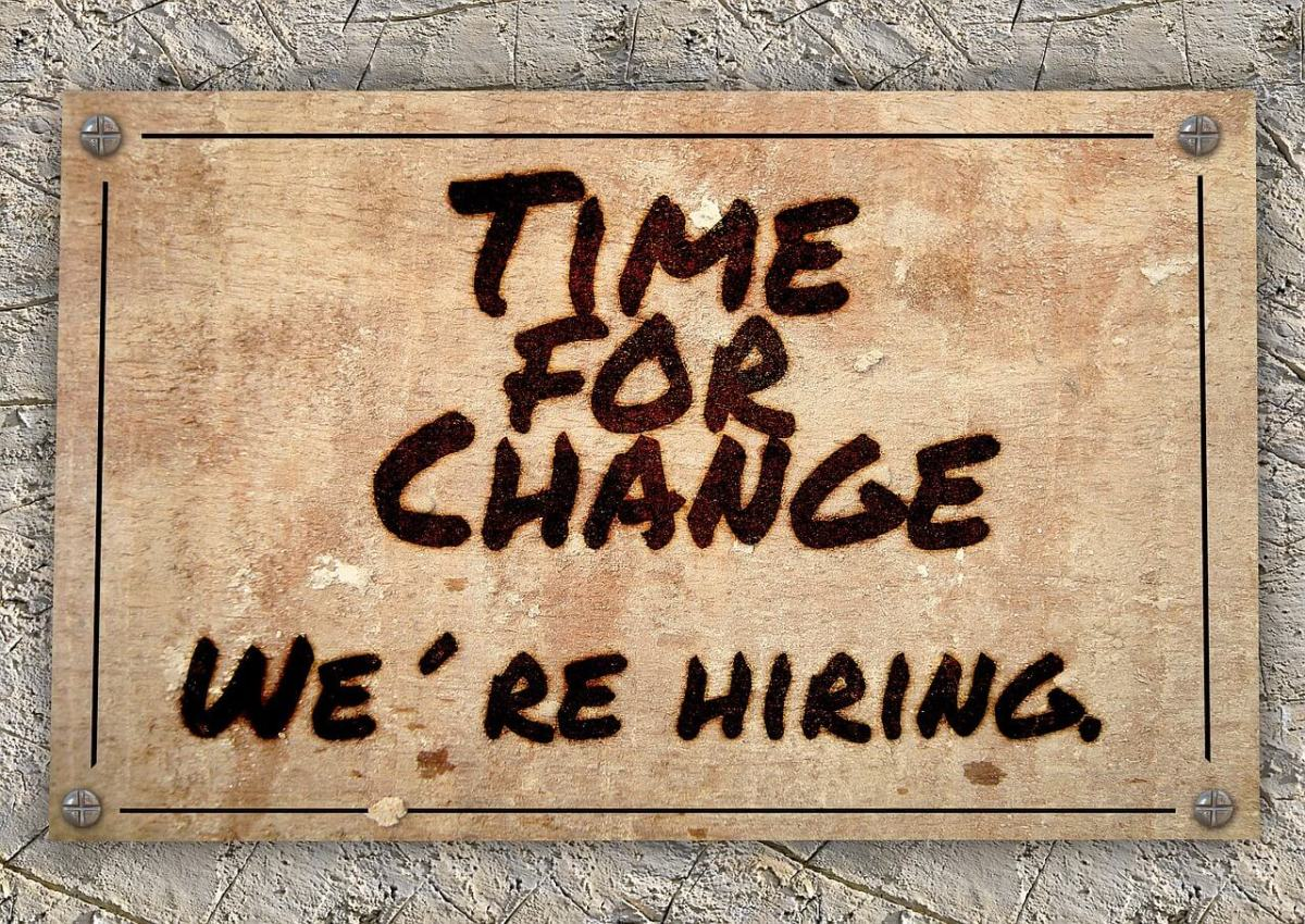 hiring time for change